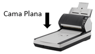 Fujitsu Cama plana